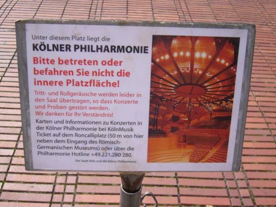 Köln: Betreten Verboten