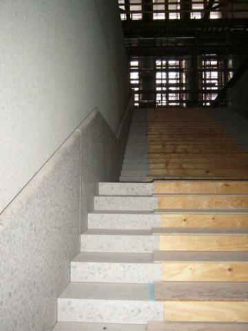 Neues Museum 2006 Treppe