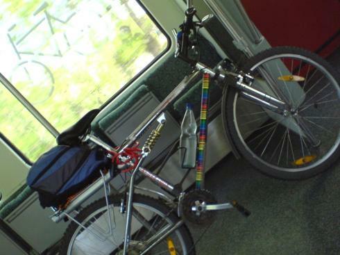 mit dem Rad in die S-Bahn ...