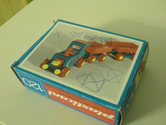 Plasticant Schachtel, 1960/70er Jahre