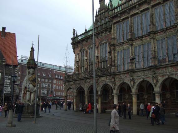 Bremen Rathaus und Roland
