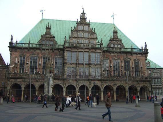Bremen Rathaus aussen