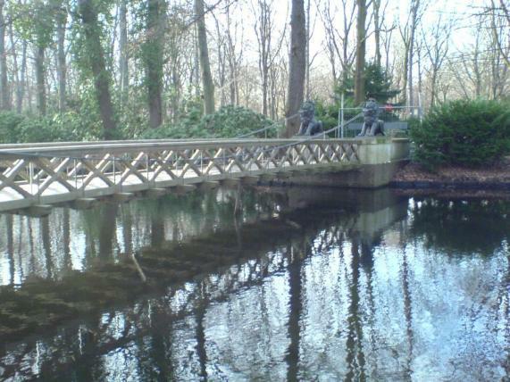 Löwen-Brücke Gesperrt 2008