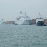 MS Astoria im Hafen von Venedig 9.4.2008