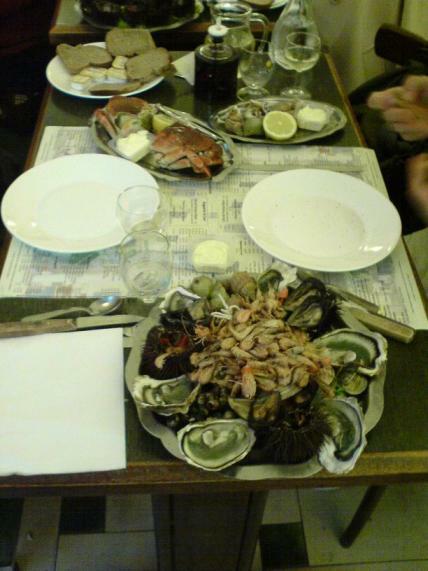 Meeresfrüchte in Nizza :-)