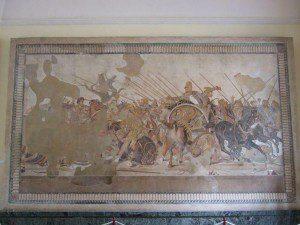 Neapel Museum Alexandermosaik