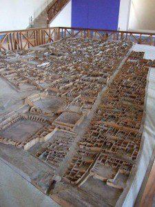 Neapel Museum Pompeji Modell