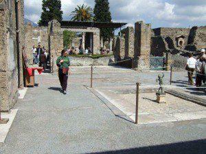 Pompeji Casa dei fauno