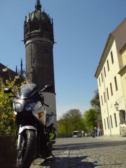 Rast in Wittenberg