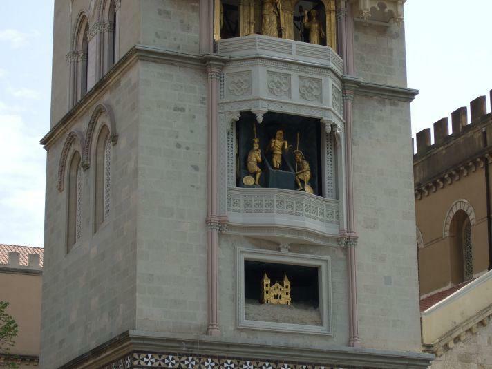 Messina Uhr Biblische Szenen, Jesus auferstanden