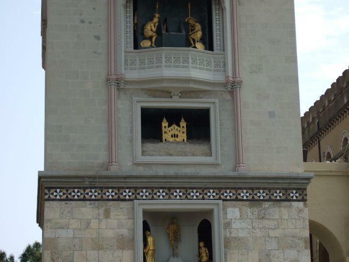 Messina Uhr Kirche von Montalto