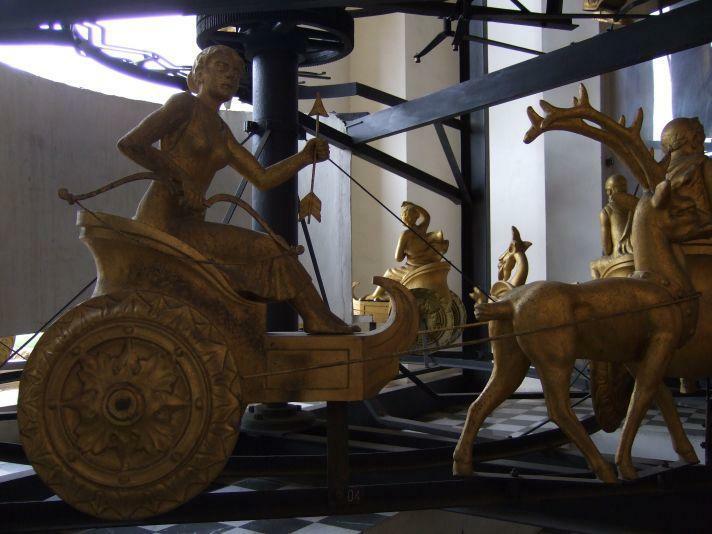 mechanische Uhr Messina - Karussell der Wochen-Tage