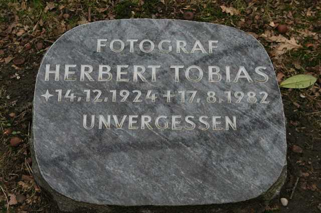Herbert Tobias Grabstein (Foto: Udo Grimberg)