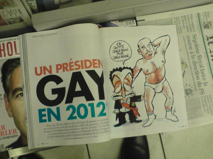 demnächst ein schwuler Präsident ?