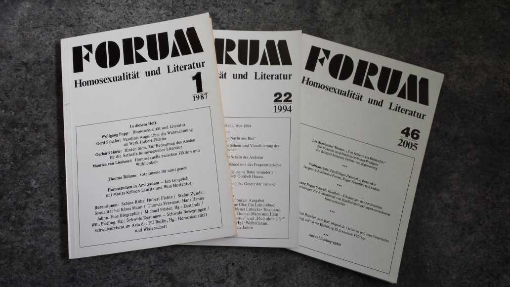 Forum Homosexualität und Literatur