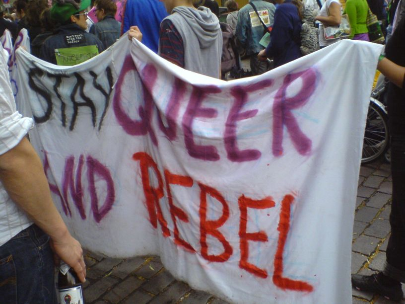 stay queer and rebel