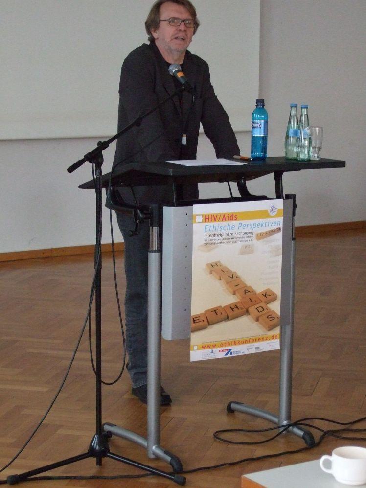 Aids Archaik Vortrag Prof. Dr. Peter Strasser Konzept Bös-Kranke Ursprünge Folgen