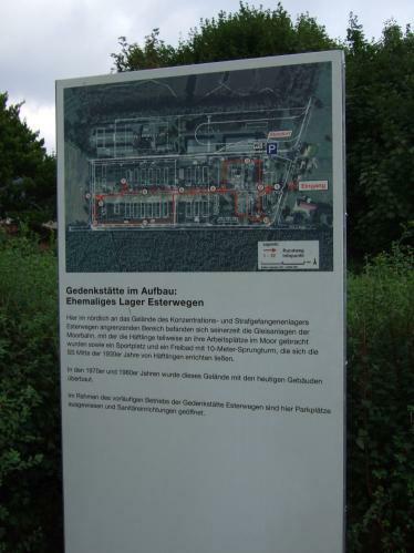 Esterwegen - Gedenkstätte im Aufbau