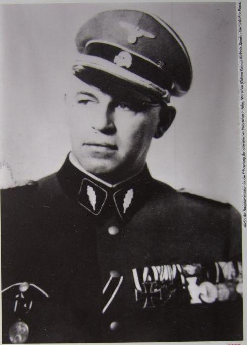 Josef Meisinger (um 1940), 1936-38 Leiter der Reichszentrale zur Bekämpfung der Homosexualität und Abtreibung