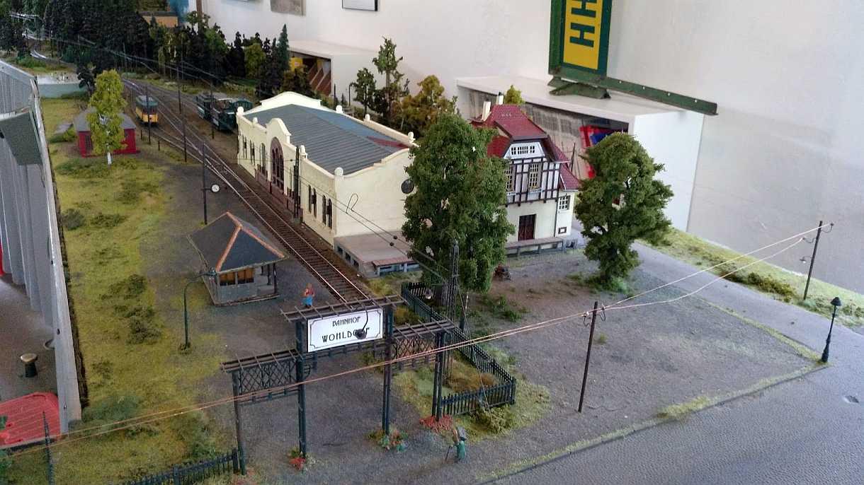 EKV Kleinbahn Bahnhof Wohldorf, Model