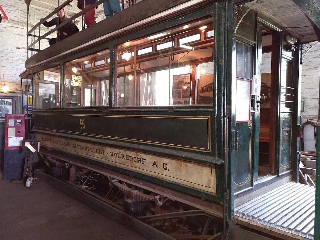 EKV Kleinbahn / Walddörfer Strassenbahn Beiwagen 56