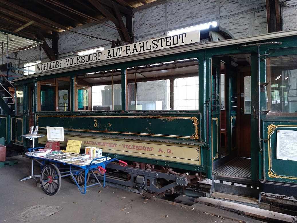 EKV Kleinbahn / Walddörfer Strassenbahn Wagen 3