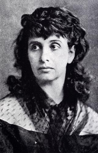 Hedwig Dohm um 1870