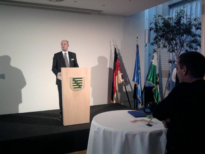 Jahresempfang 2009 der LSU / LSU-Bundesvorsitzender Reinhard Thole