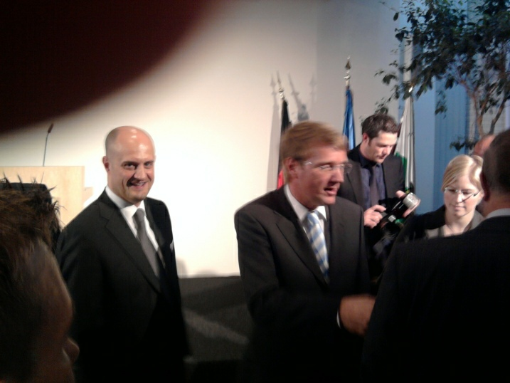 Jahresempfang 2009 der LSU / CDU-Generalsekretär Ronald Pofalla & LSU-Bundesvorsitzender Reinhard Thole