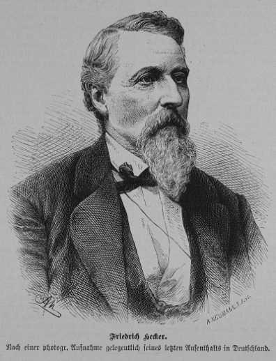 Friedrich Hecker (aus: Die Gartenlaube, 1881)