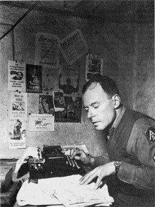 Klaus Mann 1944 als Statt Sergeant der 5th United States Army in Italien