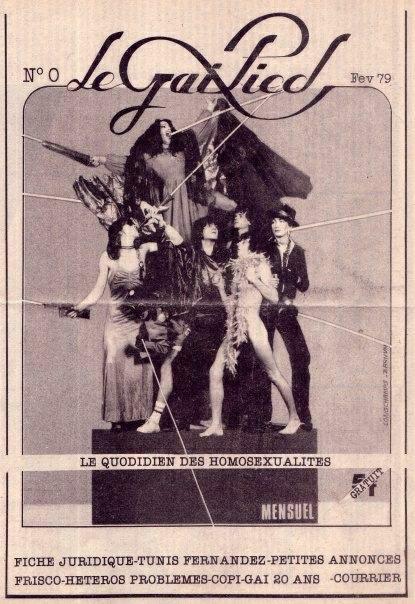 Die Nullnummer des Gai Pied vom Februar 1979