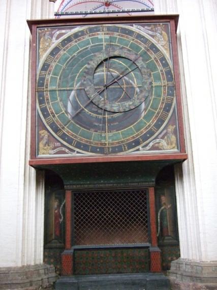 Astronomische Uhr Stralsund