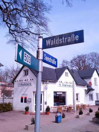 hieß einst Johannes ter Morsche Straße - die Waldstraße in Zinnowitz