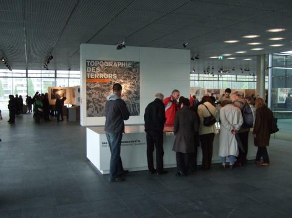 Topografie des Terrors, Ausstellungsbereich
