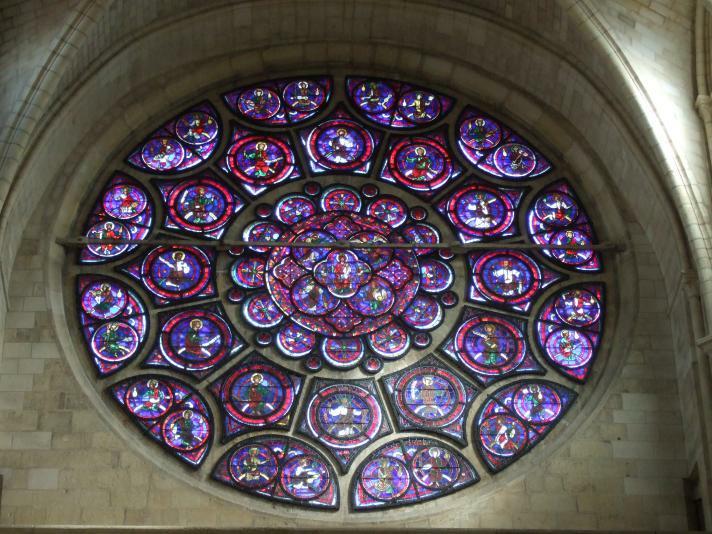 Laon Kathedrale Rose de l'Apocalypse
