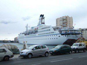 MS-Astoria im Hafen von Sete am 27. September 2007