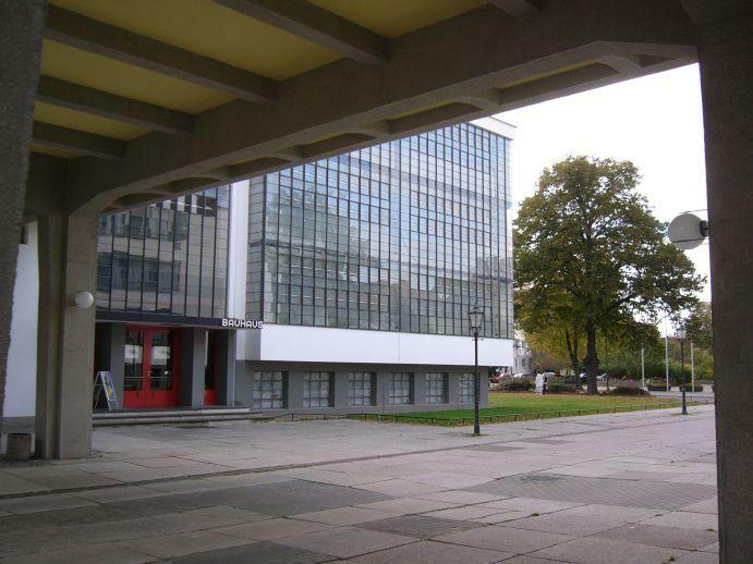 Dessau Akademiegebäude / Werkstatttrakt