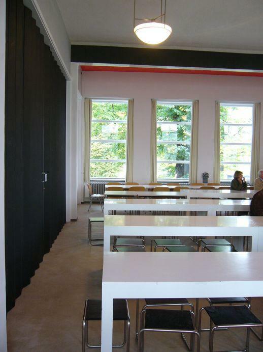 Dessau Akademiegebäude Mensa
