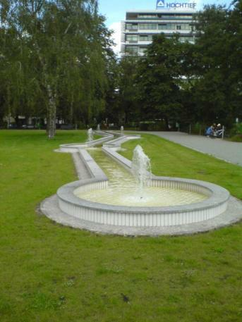 Springbrunnen Bayerischer Platz
