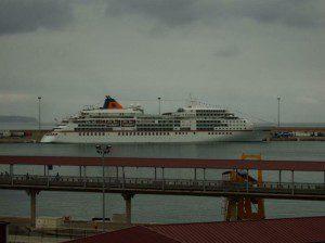 MS-Europa im Hafen von Palma am 26. September 2007
