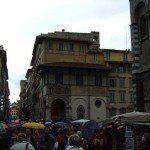 Florenz im Regen