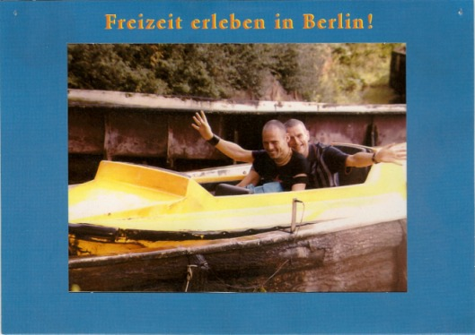 Frank & Ulli im Spreepark Berlin 2001