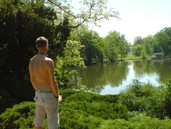 Ulli im Gartenreich Wörlitz