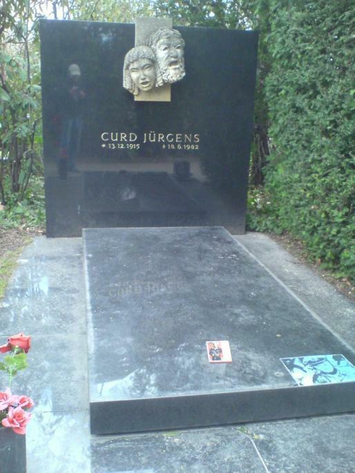 Grab Curd Jürgens