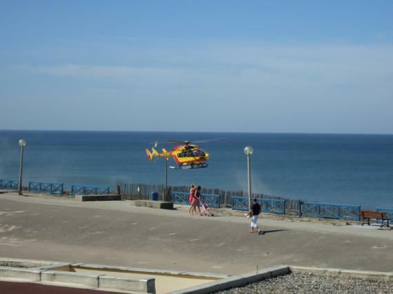 Rettungsübung (Lacanau, September 2010)