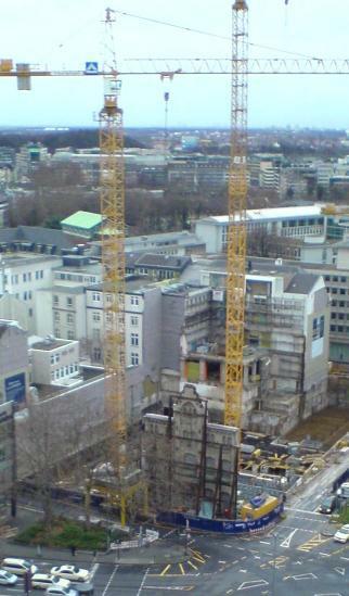 Köln Blick vom Dreischeibenhaus