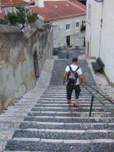 Lissabon / Frank in der Alfama