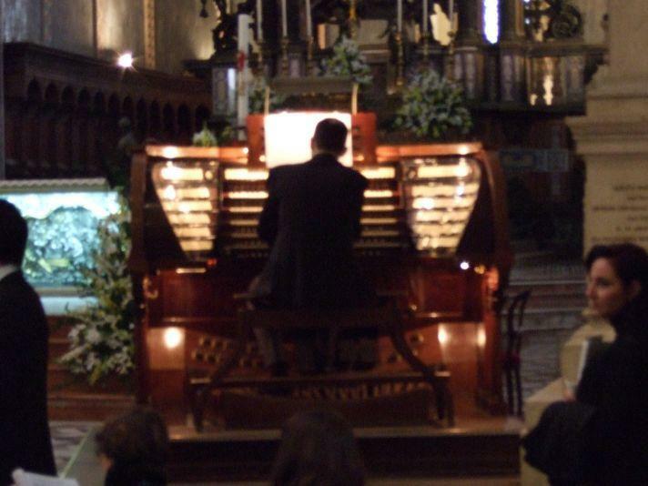 Messina Dom Orgel Spieltisch