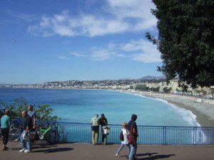die Küste von Nizza - Foto September 2007